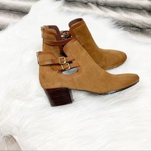 Kenneth Cole Reaction Buckle Strap Booties